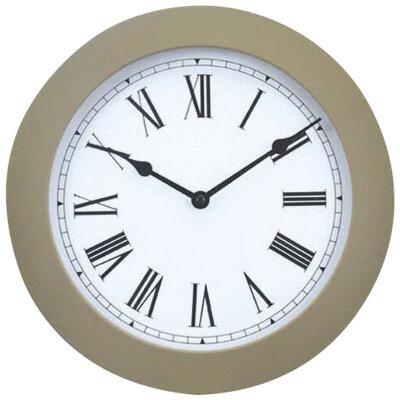 Настенные часы без секундной стрелки 25 см ENERGY ЕС-114 G круглые
