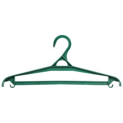 Вешалка плечики пластмассовая размер 48 50 с перекладиной для брюк