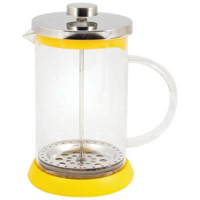 Френч пресс стеклянный 0.8 л GFP01-800ML-Y Mallony цвет - Желтый