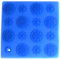 Подставка силиконовая под горячее «Цветы» Regent 93-SI-CU-04.2 см