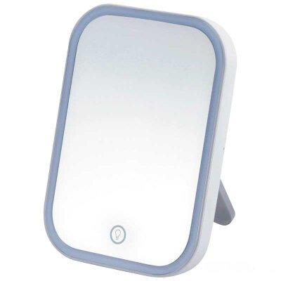 Зеркало косметическое ENERGY EN-703 LED подсветка, сенсорное включение и выключение