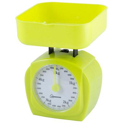 Весы настольные с чашей механические до 5 кг HOMESTAR HS-3005М-Y Желтый