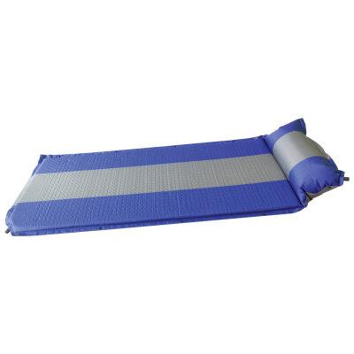 Коврик самонадувающийся (с панчингом) 3см с подушкой. Модель М5.