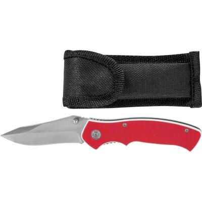 Нож туристический складной 20 см ECOS EX-136 G10 красный