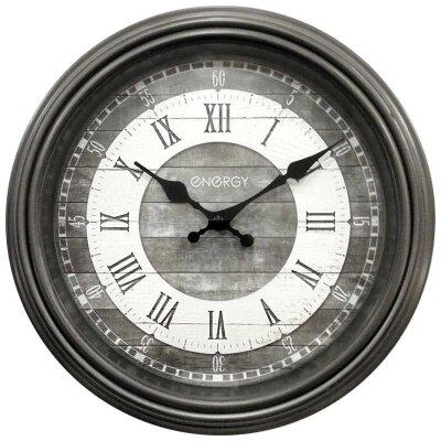 Часы настенные интерьерные круглые ENERGY ЕС-121 29 см кварцевый механизм