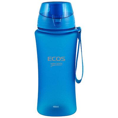 Фитнес бутылка для воды 480 мл ECOS SK5014 голубая