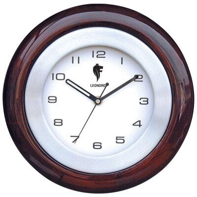 Часы круглые настенные 27 см  LEONORD  LC-64 кварцевый механизм с плавным ходом