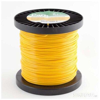 Леска для косилки в бобине круглая 2.4 мм 160 м PARK нейлон желтая