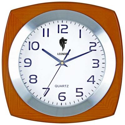 Часы настенные кварцевые 30х30 см LEONORD LC-65 бесшумный кварцевый механизм