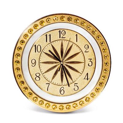 Часы круглые настенные Даймонд 28 см MAXTRONIC MAX-9723A кварцевый механизм на пальчиковой батарейки