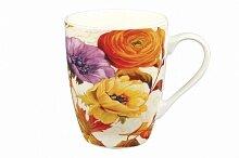"""Кружка 340мл """"Цветочный сад"""", керамика"""