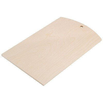 Доска разделочная 30x18 см Mallony фанера береза