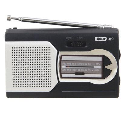 Радиоприемник Эфир-09, бат.2хААА (не в компл.)