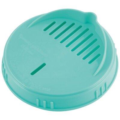 Крышка для слива из банок Твист офф 82 мм винтовая пластиковая