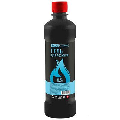 Гель для розжига 0.5 л Ecos на основе жидких парафинов