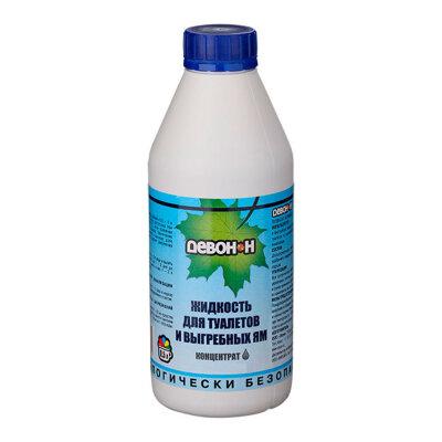 Девон-Н Жидкость 0.5 л для туалетов, септиков, выгребных ям и удаления запахов