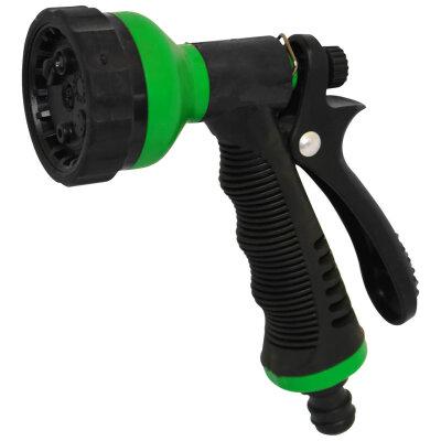 PARK HL161 Пистолет для полива с аквастопом и  6 режимами для дачи