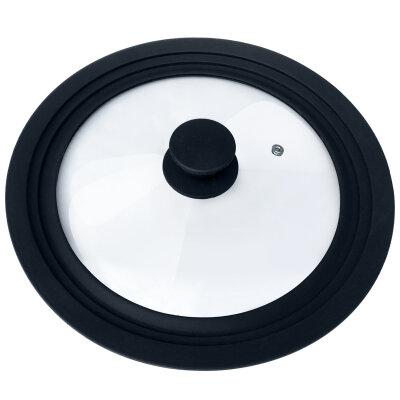 Многоразмерная крышка Mallony CAPPELLO 24-26-28 см с силиконовым ободом