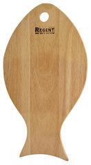 """Доска разделочная """"Рыбка"""" деревянная 32х18 см Regent 93-BO-1-09"""