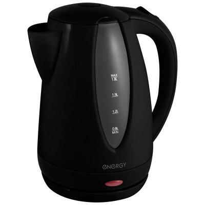 Чайник электрический пластиковый 1.8 л ENERGY E-229 1500 Вт, диск черный