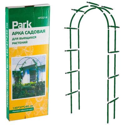 Арка садовая Park HF0014 металлическая для вьющихся растений  140х37х240 см