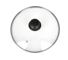 Крышка стеклянная 20 см Regent 93-LID-01-20 с пароотводом