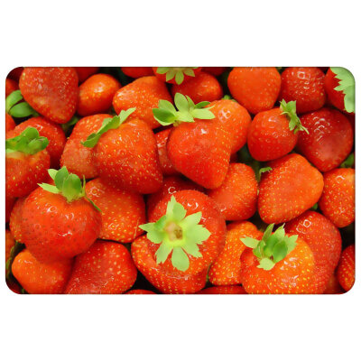 "Пластиковая салфетка для сервировки стола 40х28 см Рыжий кот PPM-01-ST ""Клубника"""