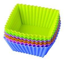 Формы для выпечки тарталетки 6 шт из силикона «Тарталетки Квадрат» Regent 93-SI-S-17.4