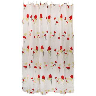 Занавеска для ванной Рыжий кот SC-PE-16, полиэстер, размер: 180*180 см