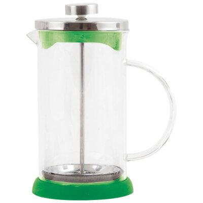 Чайник кофейник прессом 1 л GFP01-1000ML-G зеленый стеклянный