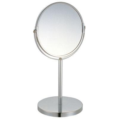 Рыжий КОТ M-1605 Зеркало косметическое увеличительное с 5-кратным увеличением, 17 см