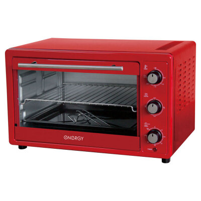 Духовка электрическая настольная Energy GT30-R на 30 л, цвет: Красный