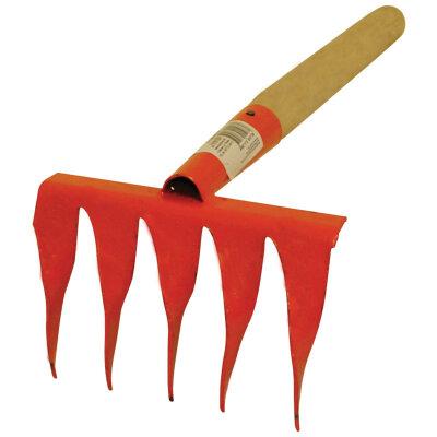 Грабельки с витым зубом ручные для грядок 5 зубые Заря