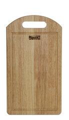 Доска разделочная деревянная 26х16 см Regent 93-BO-2-10.1 с ручкой