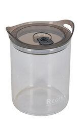 Стеклянная банка 1.2 л Regent 93-DE-CA-01-1200 для хранения сыпучих продуктов с крышкой