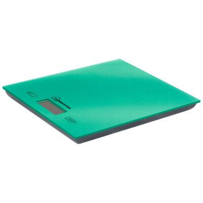 Весы бытовые кухонные электронные до 5 кг HOMESTAR HS-3006 Green стекло, цвет зеленый