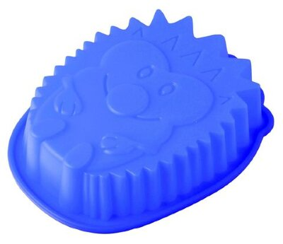 """Силиконовая форма для выпечки кекса """"Ёжик"""" Regent 93-SI-FO-69  20x16x4.5 см"""