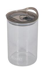 Стеклянная банка 1.6 л Regent 93-DE-CA-01-1600 для хранения сыпучих продуктов с крышкой