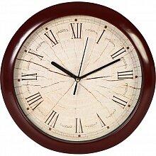 Часы круглые настенные 28 см MAX-8383-3 интерьерные с римскими цифрами