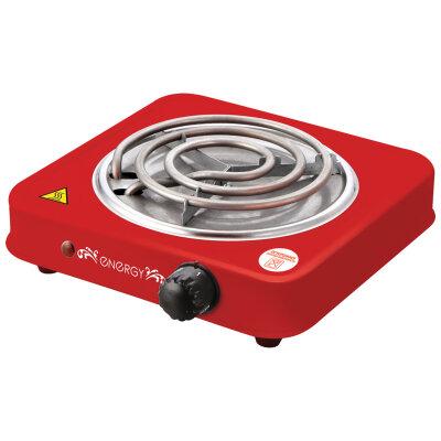 Плита настольная электрическая с 1 конфоркой ENERGY EN-902R цвет Красный