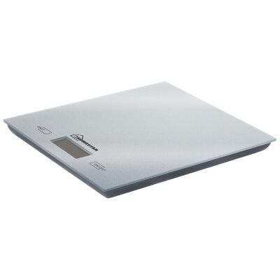 Весы бытовые кухонные электронные до 5 кг HOMESTAR HS-3006 стеклянная поверхность цвет серебряный