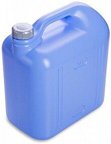 Канистра пластиковая 20 л Просперо С933 прямоугольная, цвет Синий и Белый