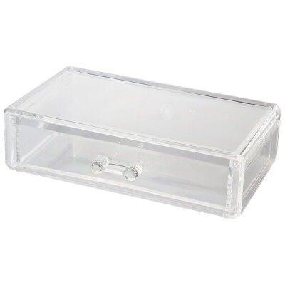 Органайзер для хранения косметики выдвижной 18х12х5 см Соло пластиковый