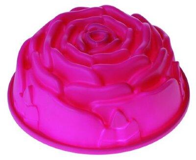 Силиконовая форма для выпечки кекса «Роза» Regent 93-SI-FO-13 23.5х9.5 см