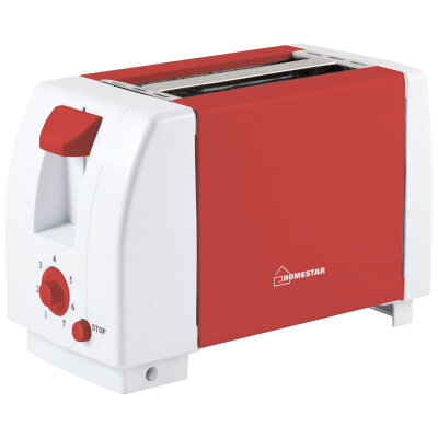Тостер для приготовления горячих бутербродов HomeStar HS-2002 коралл, 750 Вт