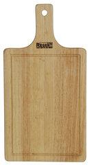 Доска разделочная деревянная с ручкой 40x21 см Regent 93-BO-1-03 прямоугольная