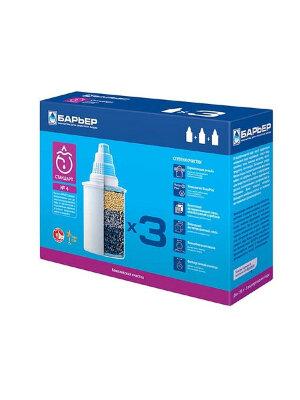 Кассета Барьер 4 СТАНДАРТ (х3) картридж 3 шт в упаковке ресурс по 350 л