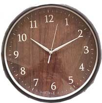 Часы круглые 30 см настенные MAX-9722WP3 кварцевые с секундной стрелкой