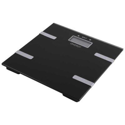 Весы напольные электронные с анализатором ENERGY EN-407 стеклянная поверхность встроенная память