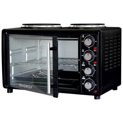 Мини плита с духовкой 25 л Energy GН25-В настольная электрической цвет Черный